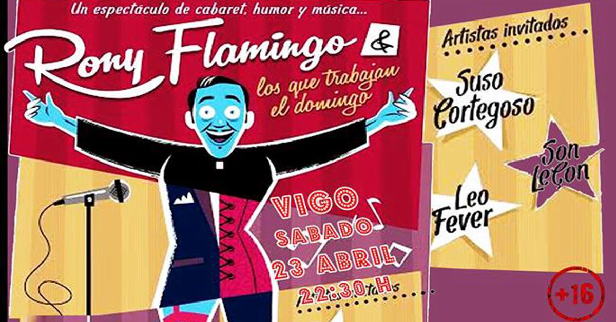 Show de Burlesque con Rony Flamingo