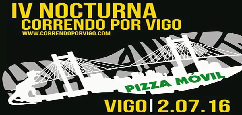 Carrera Nocturna Correndo por Vigo 2016