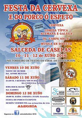 Fiesta de la cerveza y del Puerco en Espeto