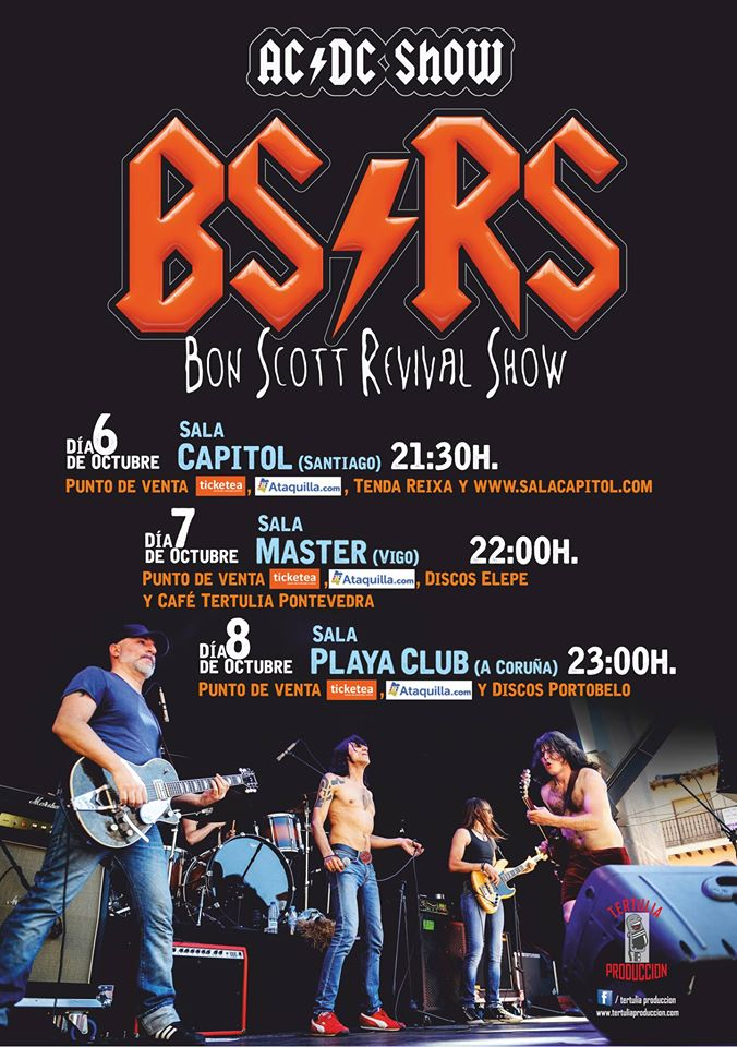 Bon Scott Revival Show
