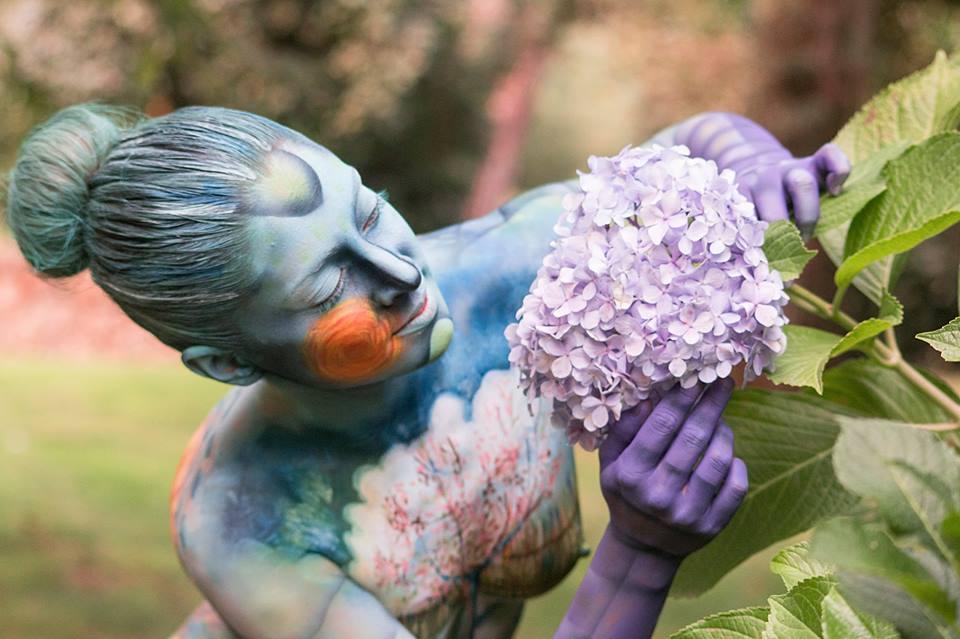 Body Art Fest, Bodypainting en Vigo