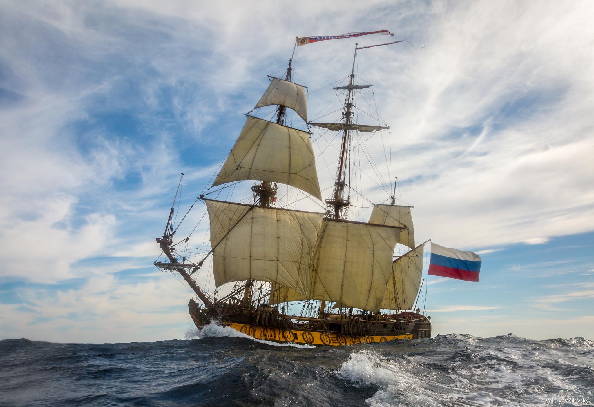 FRAGATA RUSA SHTANDART VISITA VIGO Y ABRE SUS PUERTAS AL PÚBLICO   ¿Qué  hacer en Vigo?