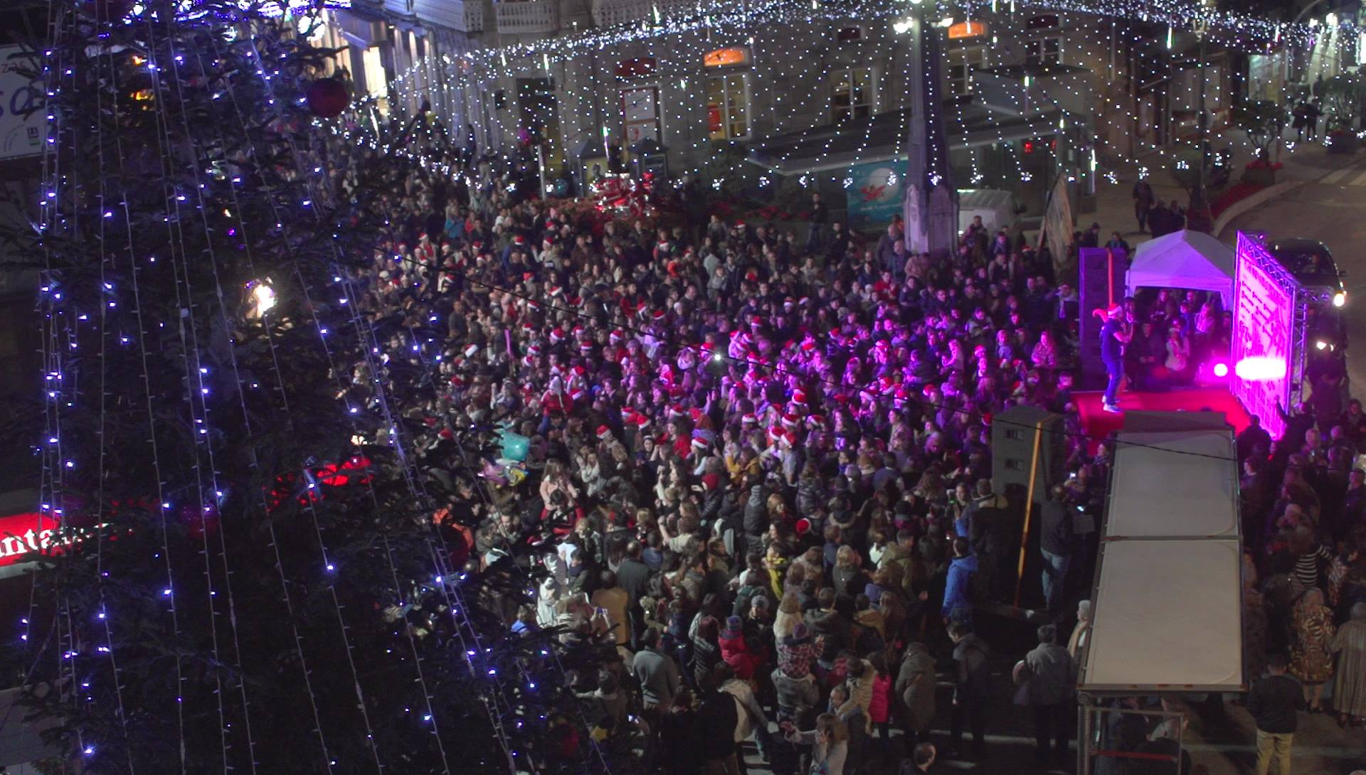 Flashmob de Navidad en Vigo   Porta do Sol