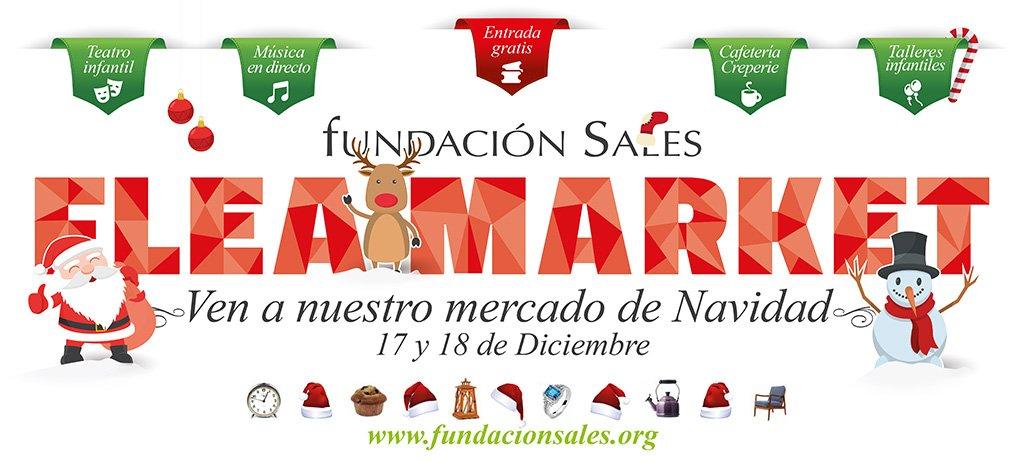 Mercadillo de Navidad de la Fundación Sales