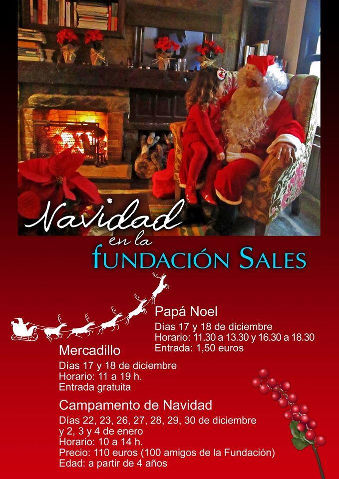 Mercadillo de Navidad de la Fundación Sales 2016
