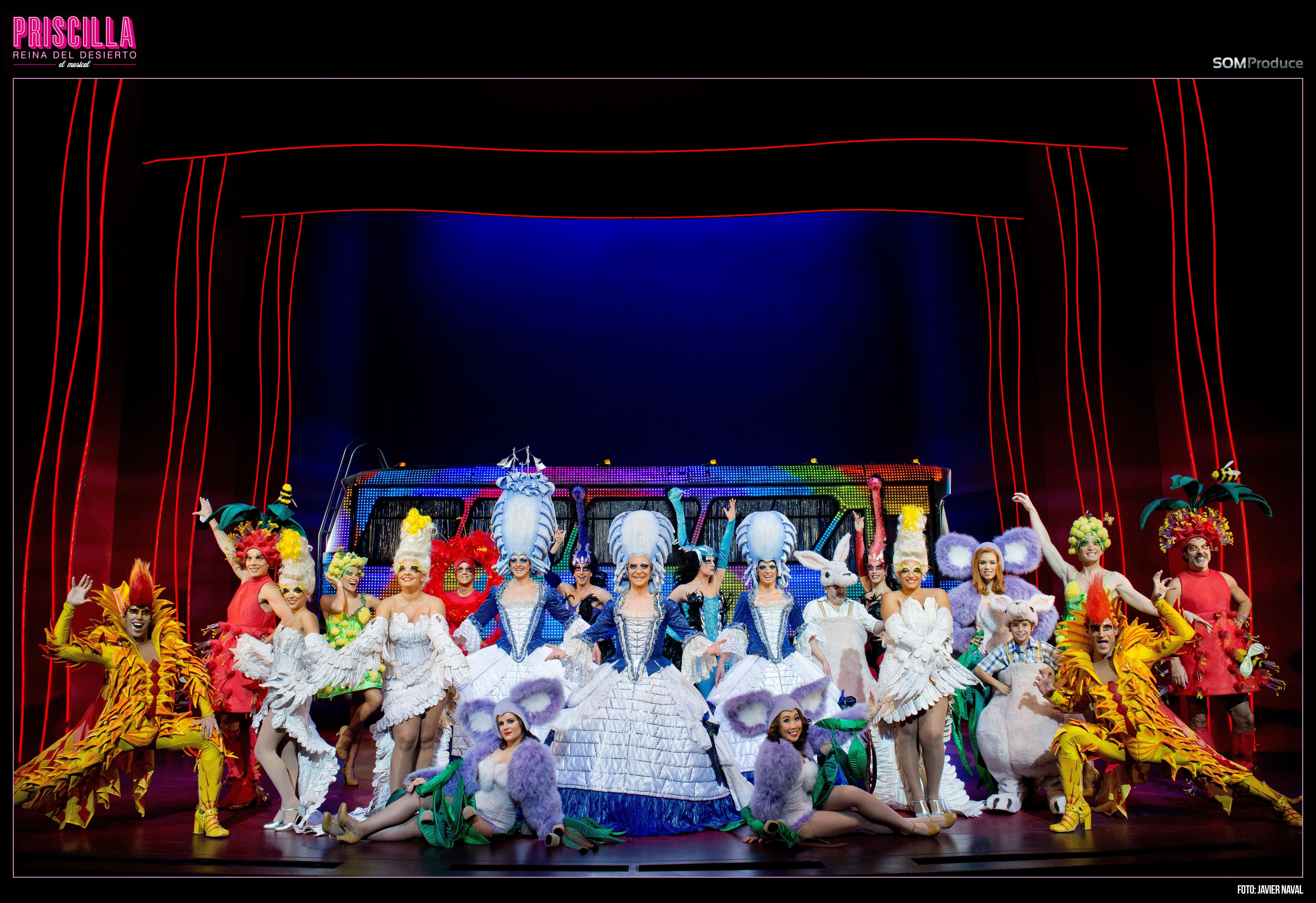PRISCILLA, el musical nº1 en Vigo!
