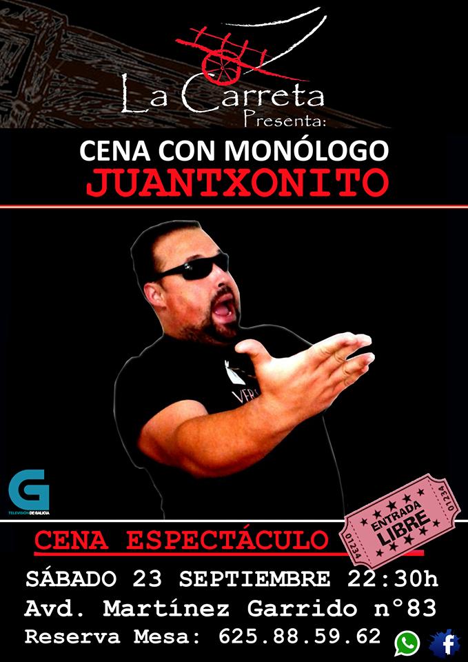 Noche de humor con Juantxonito