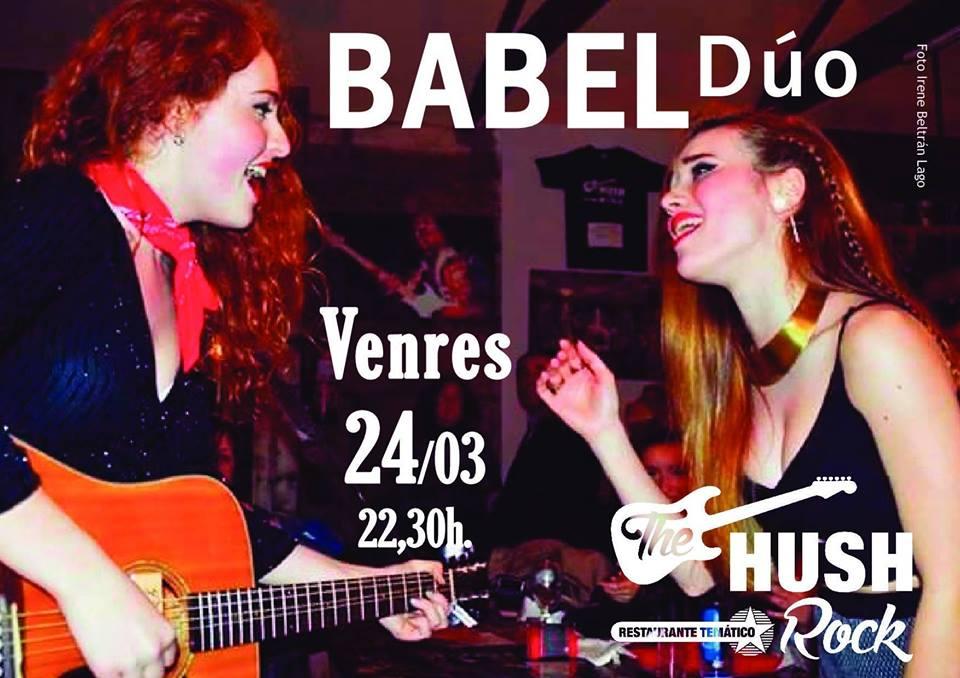 Concierto de Babel Dúo en Vigo