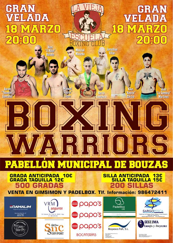 Gran Velada Boxing Warriors