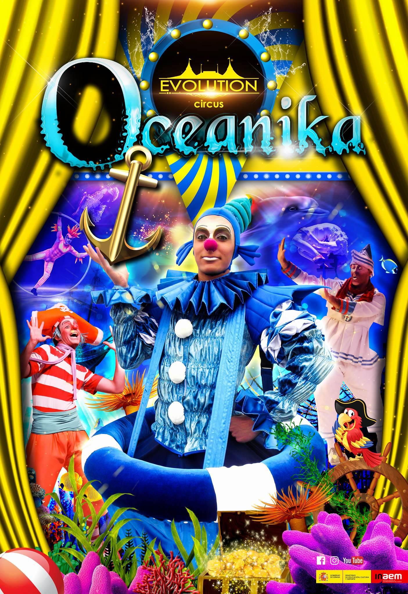 Oceanika, circo en Coia (Avd. Castelao)