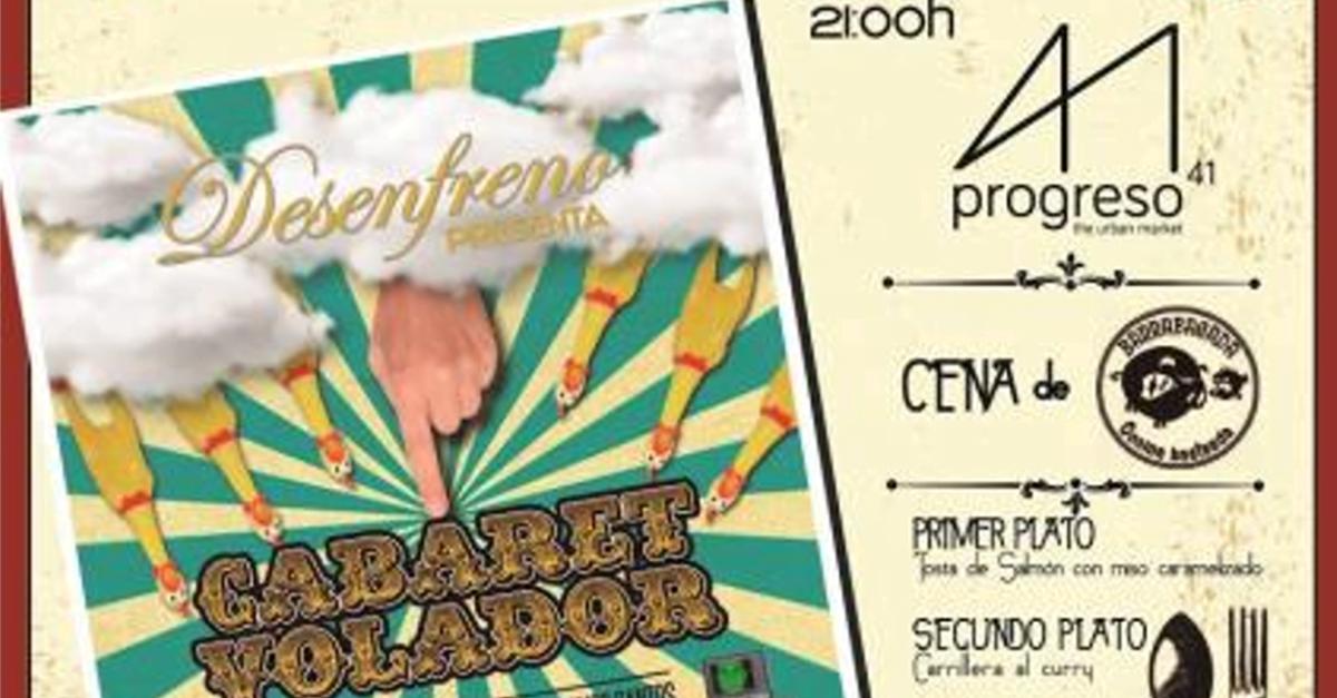 Cabaret Volador Impro Show en Vigo