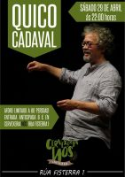 Quiko Cadaval en Vigo.