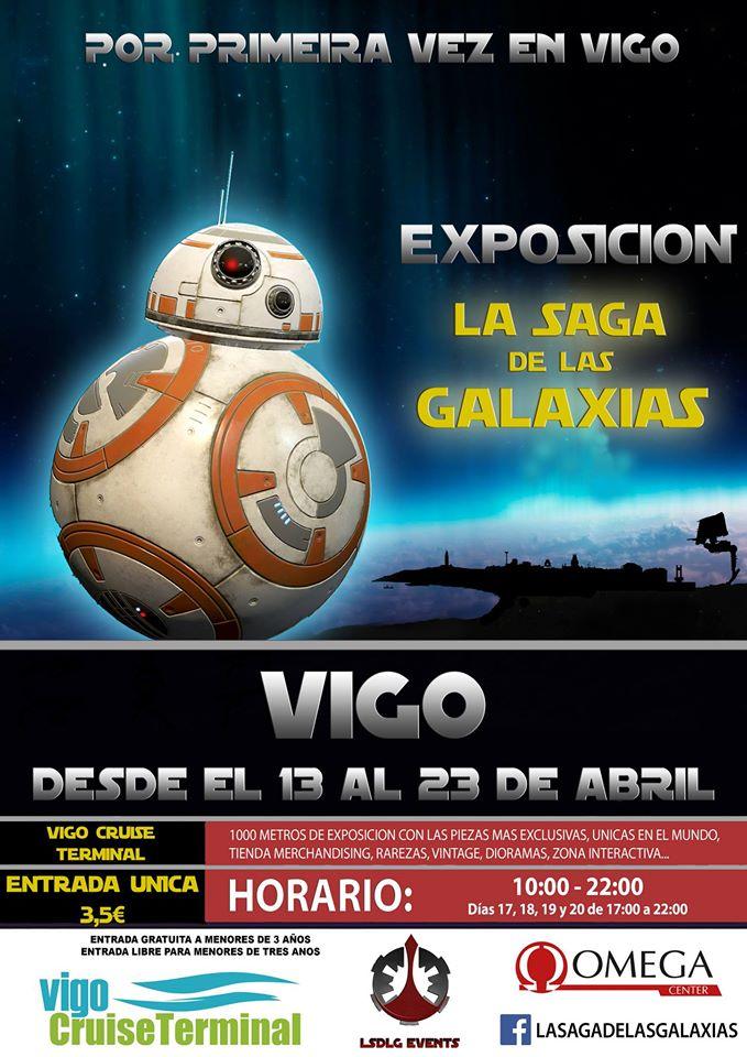 Exposición de La Saga de las Galaxias