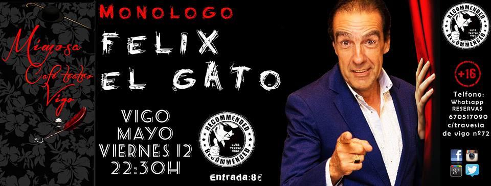 noche de humor con Félix El Gato