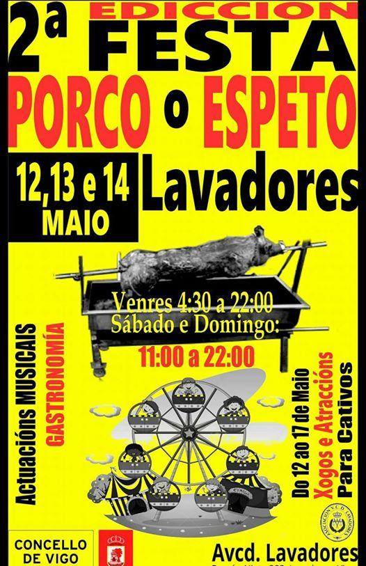 Fiesta del Cerdo o Espeto 2017
