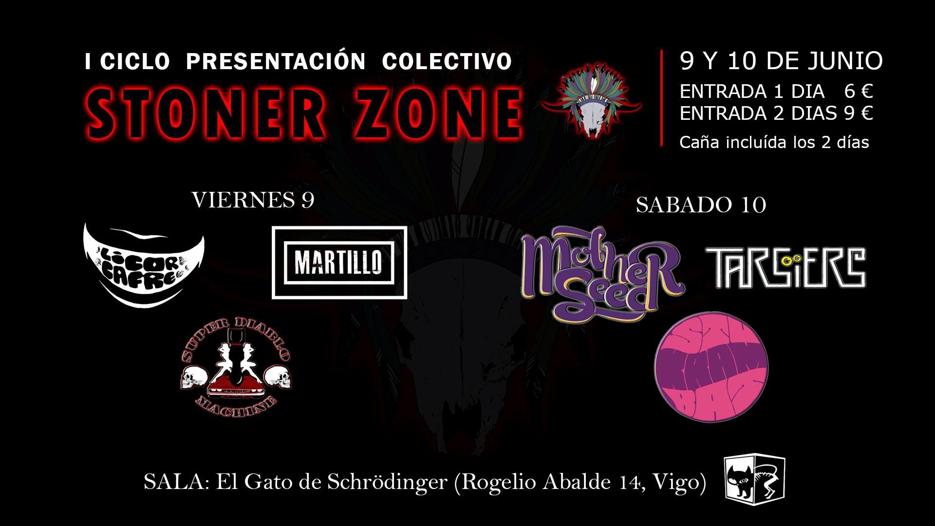 I Ciclo presentación Colectivo Stoner Zone
