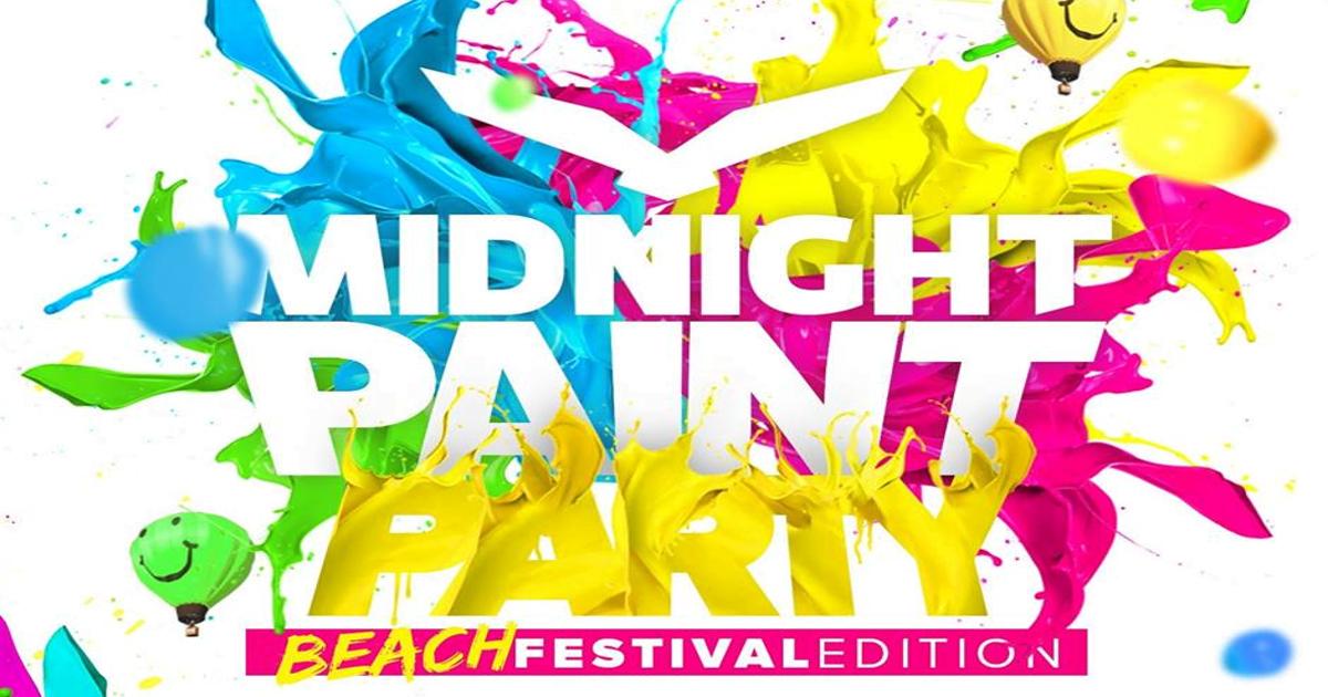 Midnight Paint Party Festival 2017 de Nigrán.