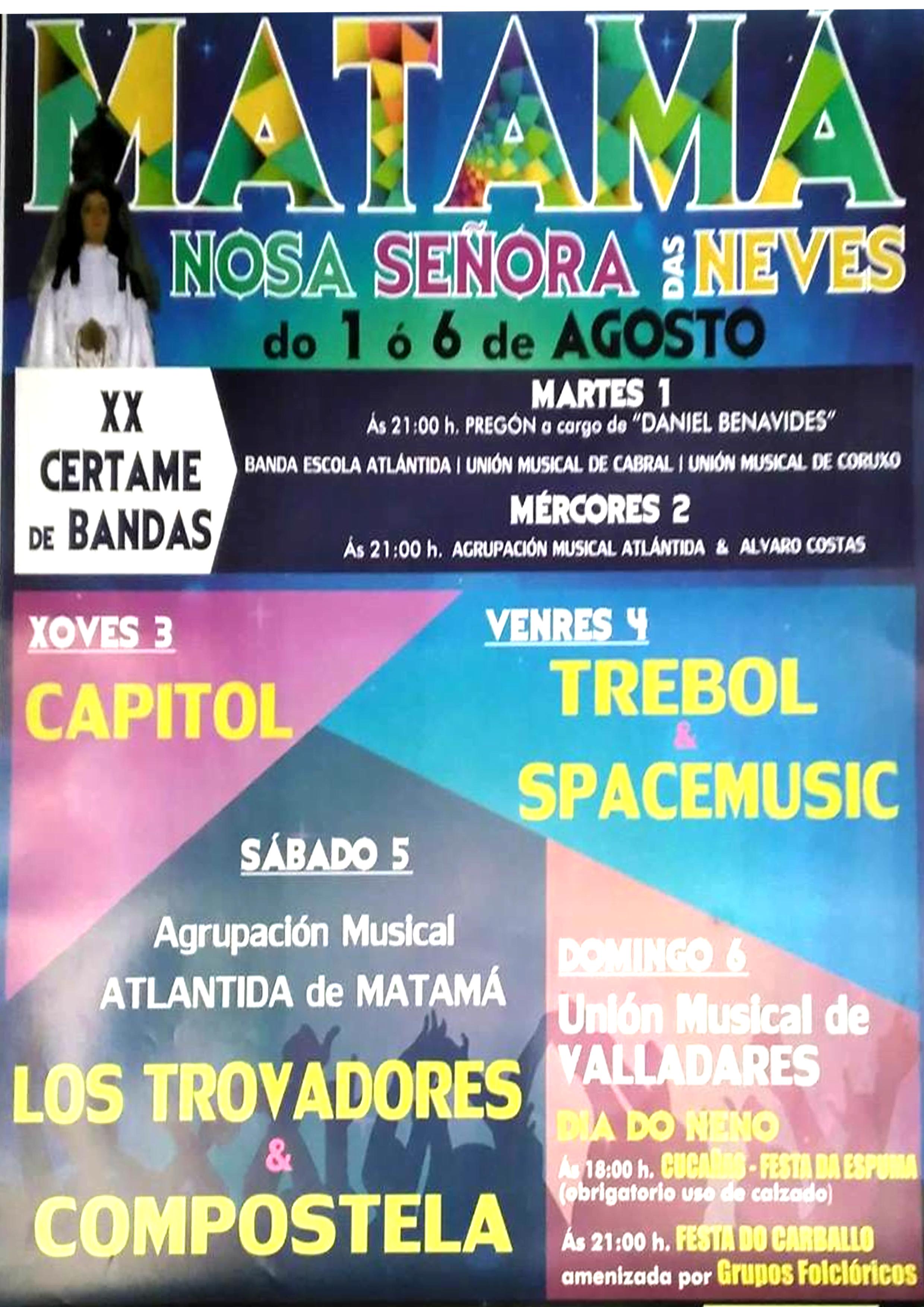 Fiestas de Matamá 2017