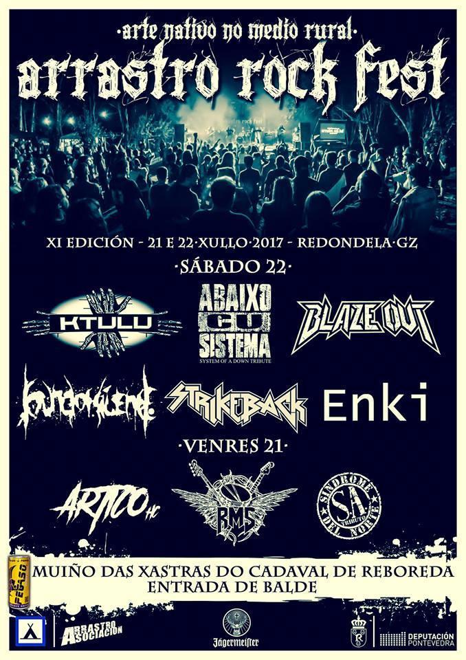 arrastro rock festival 2017