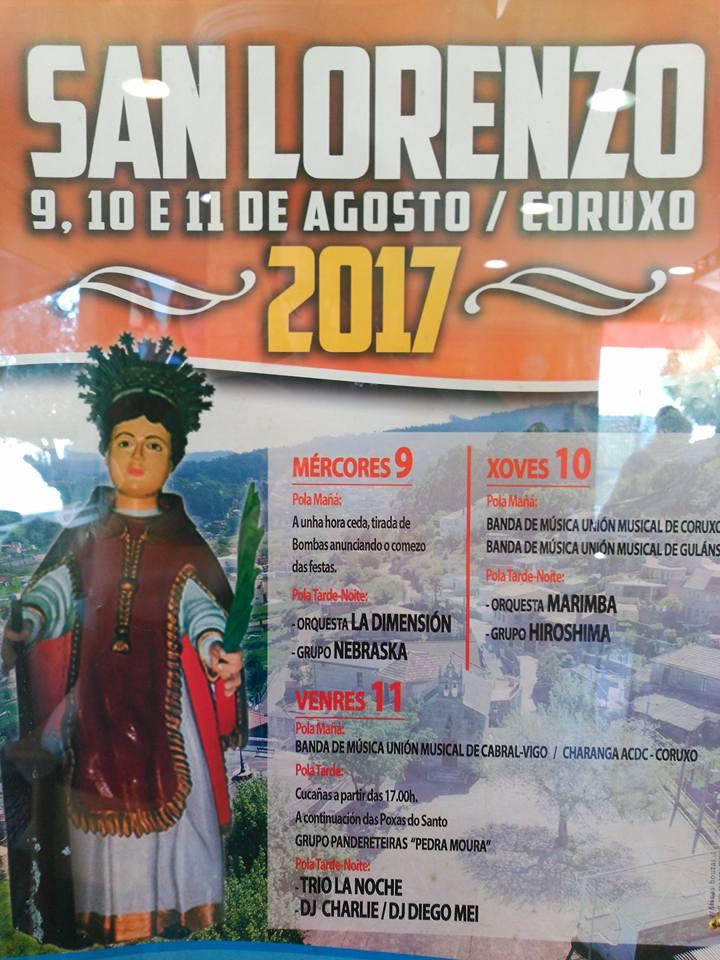 Romería de San Lorenzo en Coruxo.