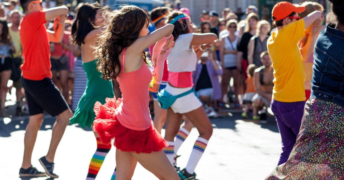 Flashmob del Carnaval de Verano de Redondela.