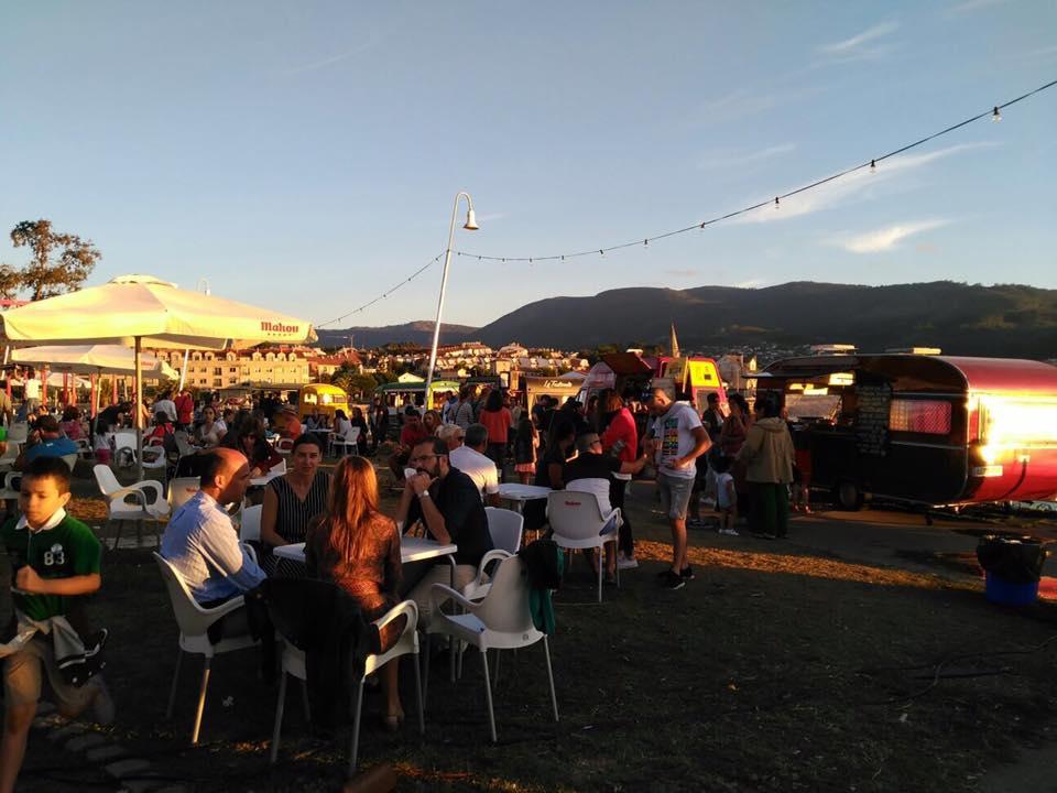 Rilla Na Rúa, Food Trucks en Cangas.