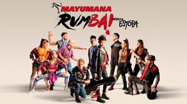 Mayumana 2017 Rumba! con Música de Estopa | Vigo