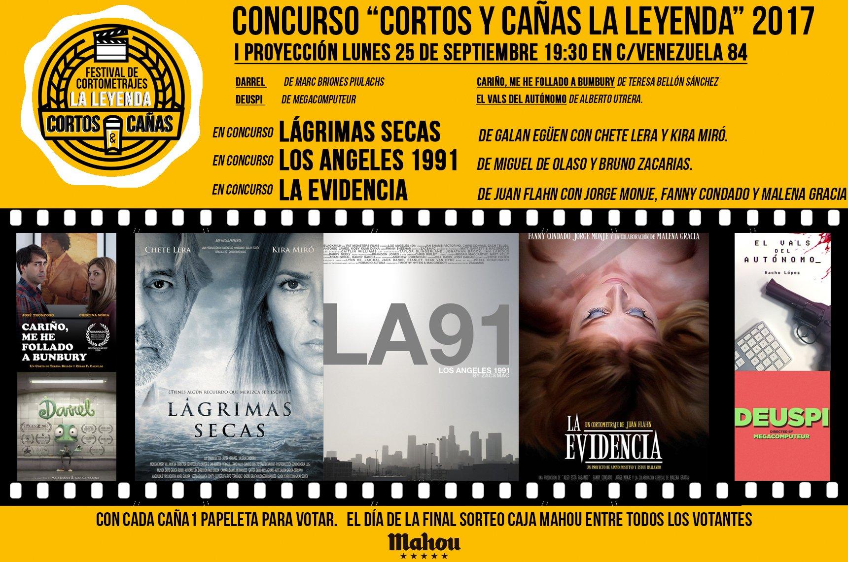 Cortos y Cañas La Leyenda   Otoño   2017