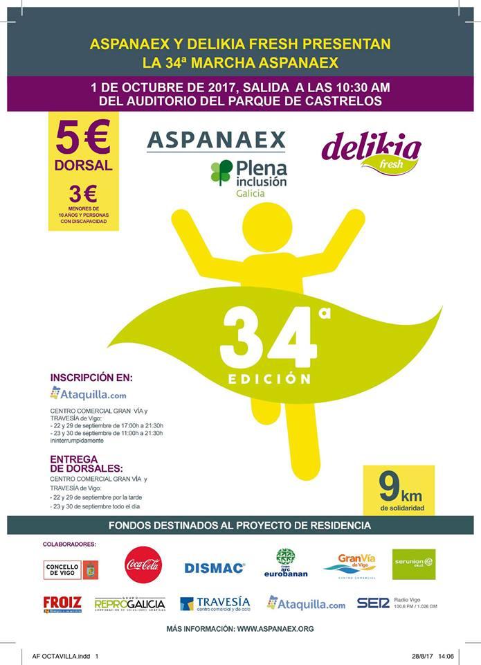 Marcha Aspanaex 2017