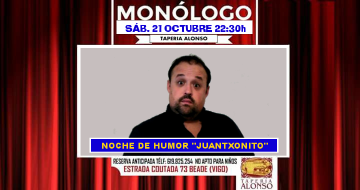Noche de humor con Juantxonito 2017