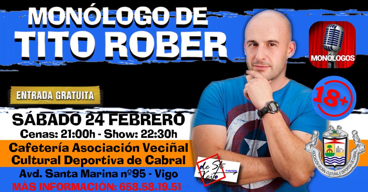 Monólogo de Tito Rober