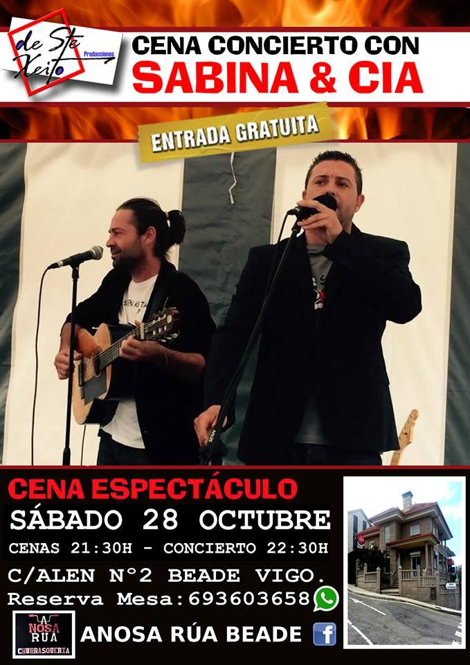 Concierto con Dúo Sabina&Cía