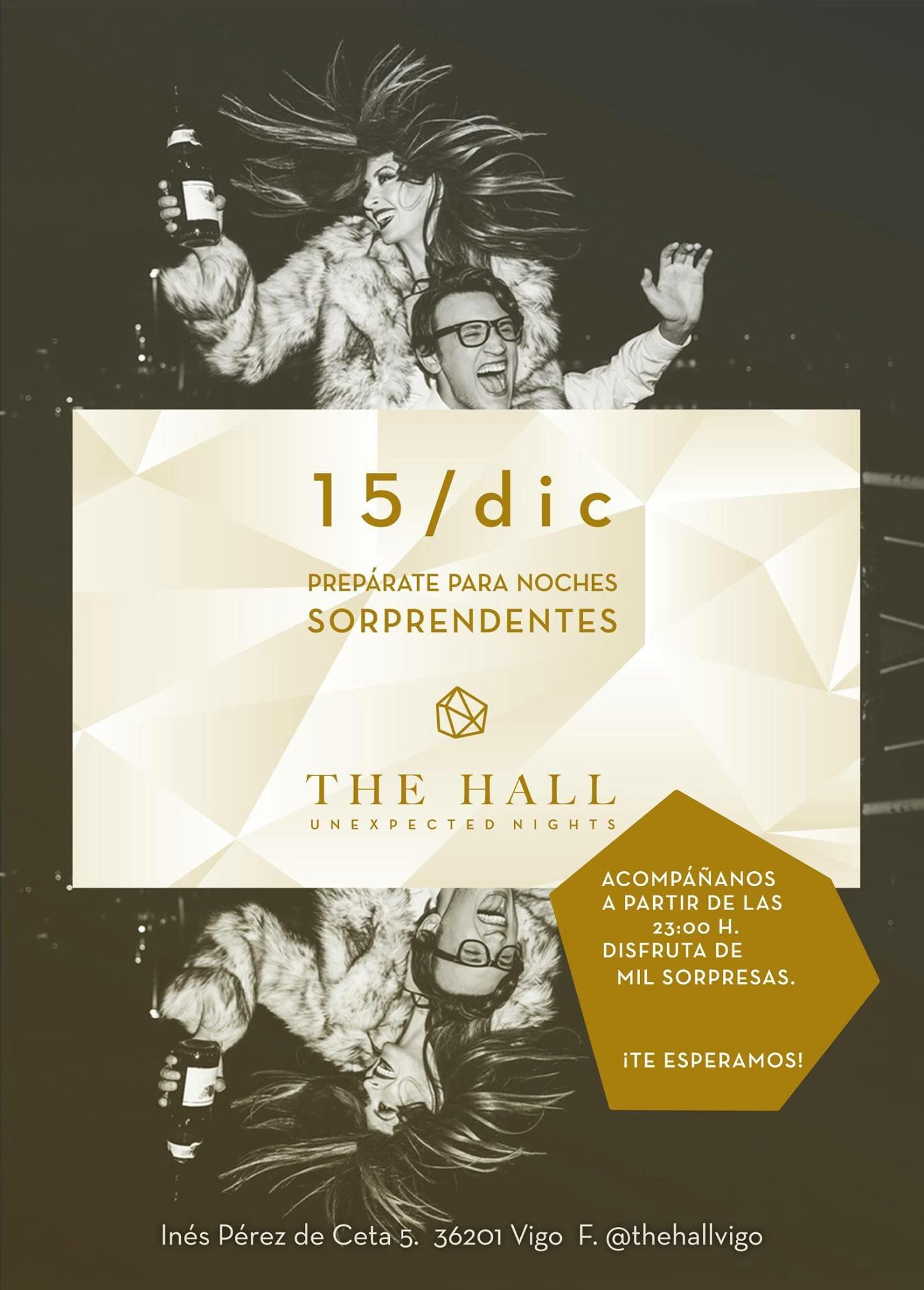 Inauguración THE HALL