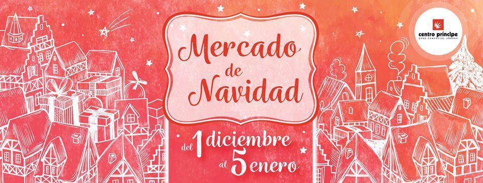 Mercado de Navidad de Centro Príncipe | Detrás do Marco