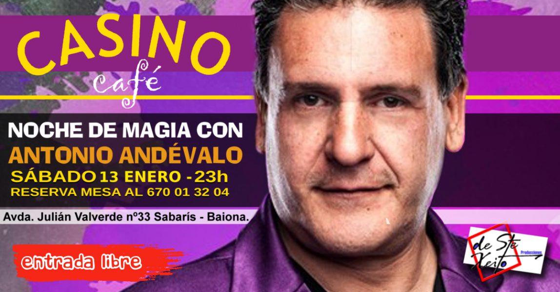 Noche de Magia con Antonio Andévalo