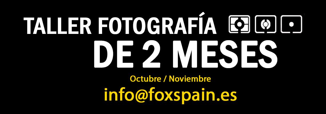 Taller de 2 meses de Fotografía en Vigo 2018 – Octubre & Noviembre
