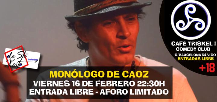 Monólogo de Carlos Ortiz CAOZ