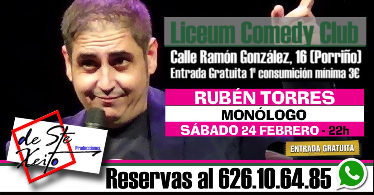 Monólogo de Rubén Torres