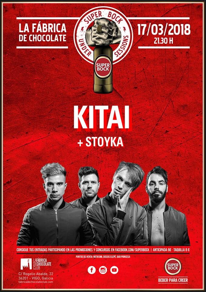 Kitai + Stoyka / Super Bock Under Sessions en Vigo
