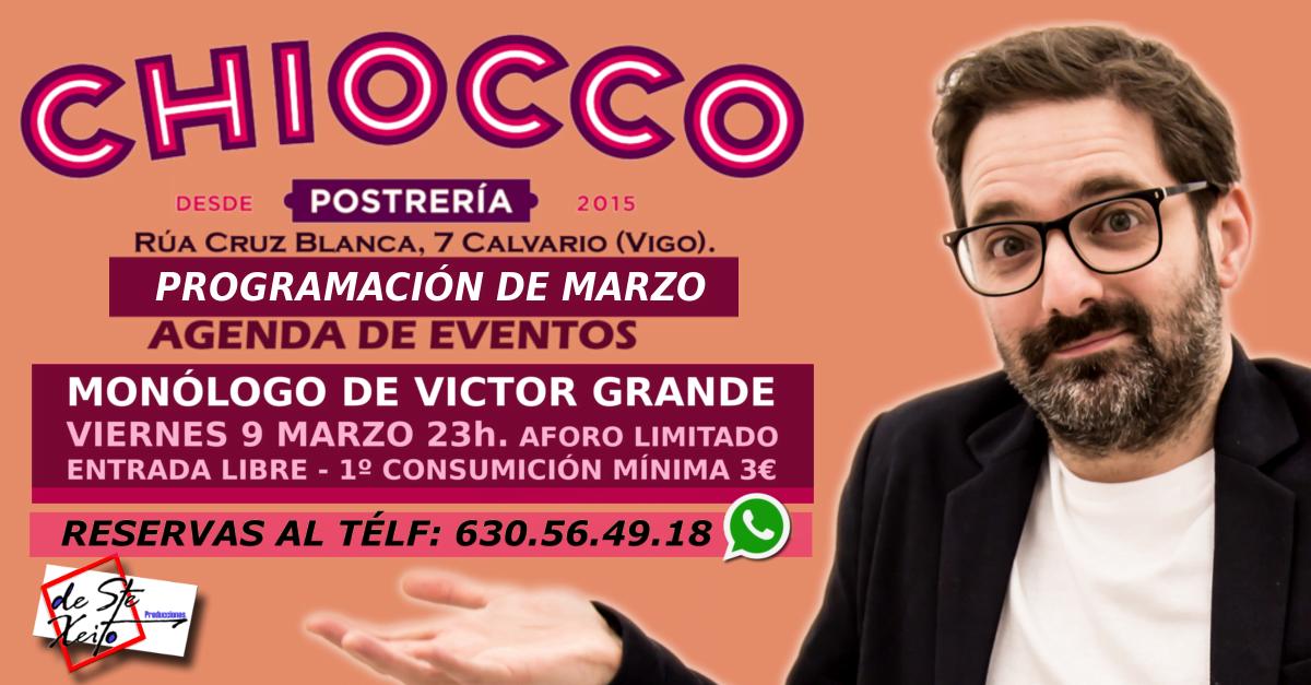 Show de Humor de Victor Grande en Vigo.