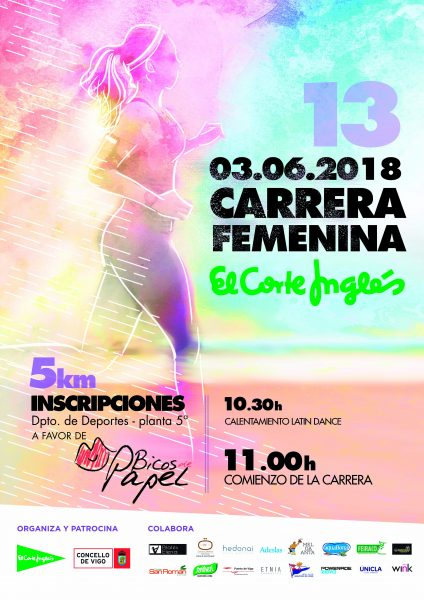 XII Carrera Femenina de Vigo 2018 – El Corte Inglés