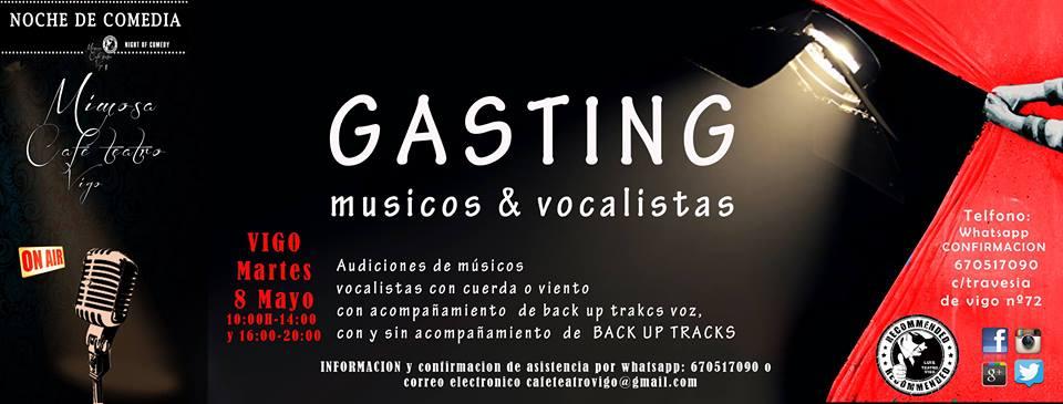 Músicos & Vocalistas