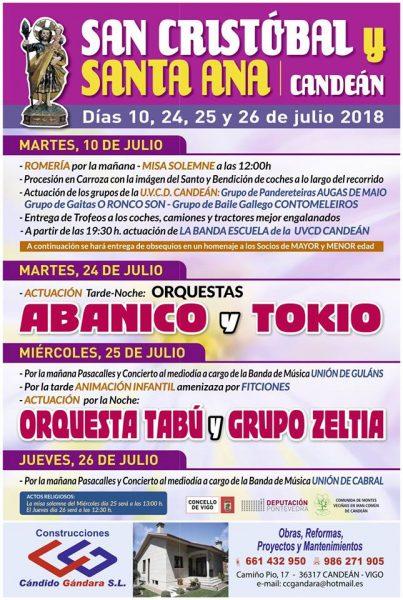 Fiestas de Candeán 2018