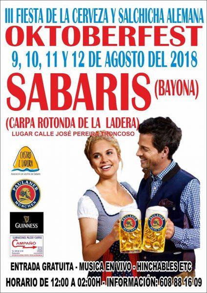 III Oktoberfest de Sabarís