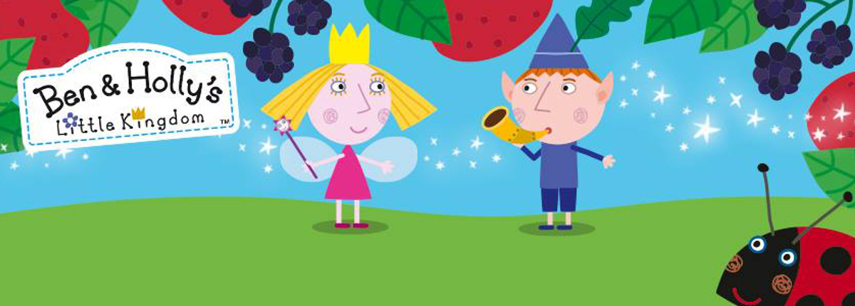 Peppa Pig y Ben y Holly