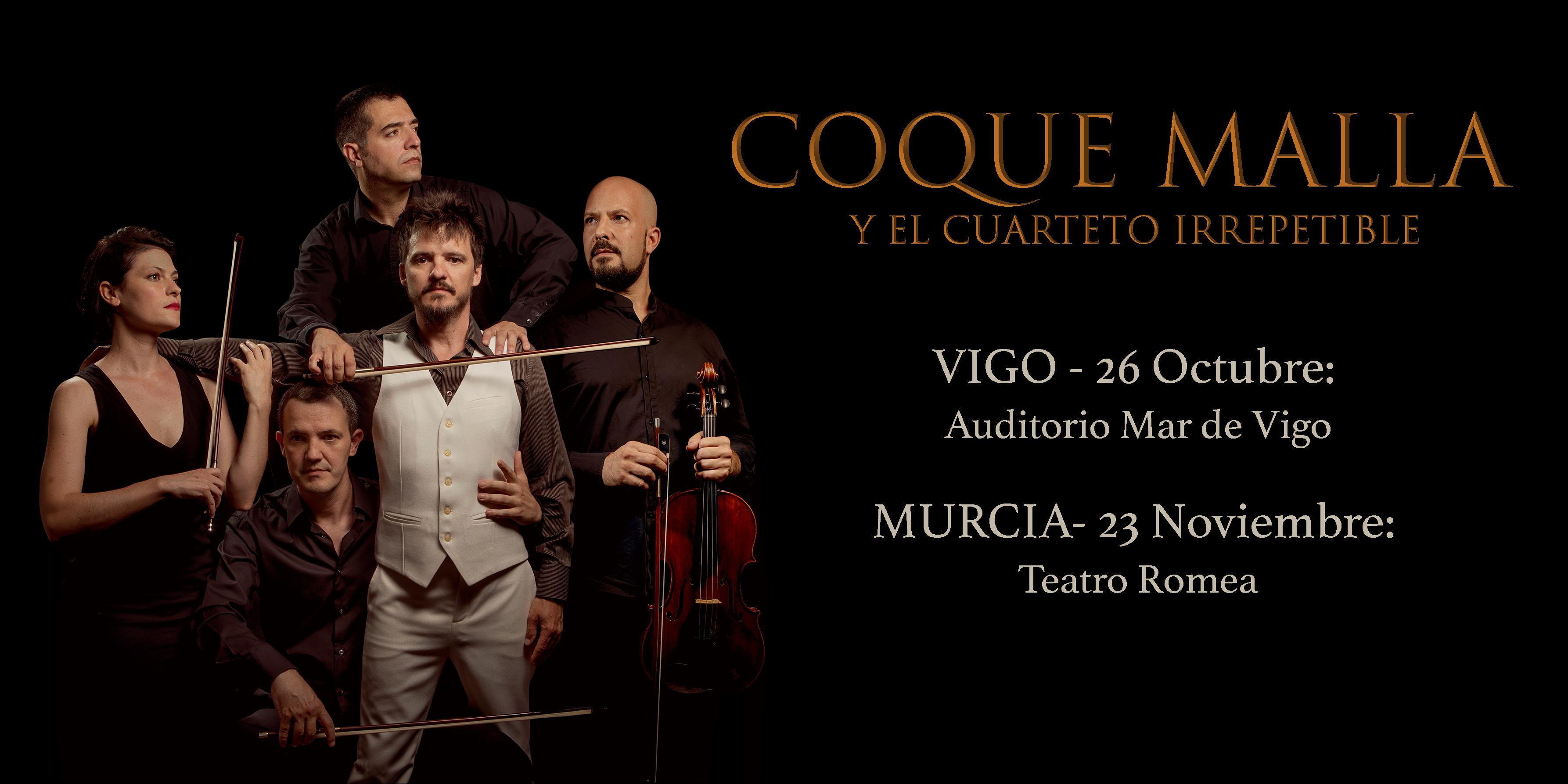 Coque Malla y El Cuarteto Irrepetible