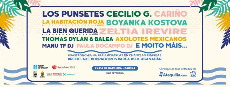 El Barbeira Season Fest se celebrará en Baiona el próximo 21 de septiembre.