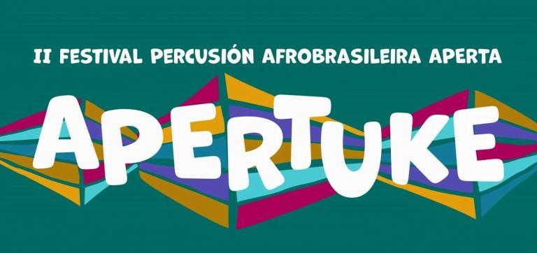 """El 14 y 15 de septiembre en Nigrán se celebra el Festival de Percusión Afrobrasileira Aperta """"Apertuke"""""""
