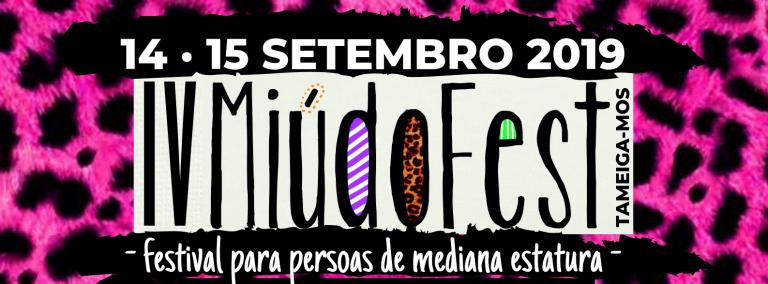 El 14 y 15 de septiembre tendrá lugar en Tameiga-Mos, la IV edición del Festival para personas de mediana estatura, el Miúdo Fest