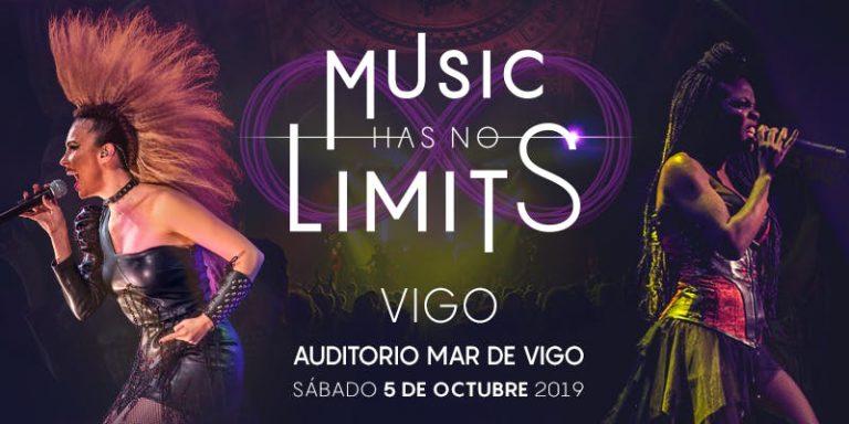 Music Has No Limits llega el sábado 5 de octubre de 2019 al Auditorio Mar de Vigo